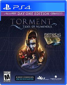 #6: Torment: Tides Of Numenera - PlayStation 4