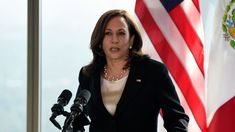 Univision Says 'Journalist' Who Questioned Kamala Harris Doesn't Work There   HuffPost True Identity, New President, Kamala Harris, Slay, Leather Jacket, This Or That Questions, Fashion, Studded Leather Jacket, Moda