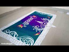 Rangoli Designs Latest, Rangoli Designs Flower, Rangoli Border Designs, Rangoli Designs Diwali, Diwali Rangoli, Rangoli Designs Images, Mehndi Images, Rangoli Borders, Rangoli Patterns