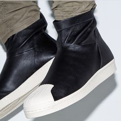 @audreejaymes just linked me with these #rickowens x #adidas kicks. POST OR TAG ME IN SOME OF THE HOTTEST KICKS YOU SEE.