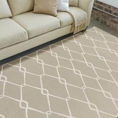 Jill Rosenwald Rugs -  Rich colors and simple patterns are important in Jills ceramic design. She carries this over to her home decor designs in these collections. - Surya Fallon FAL-1016 Sage Rug