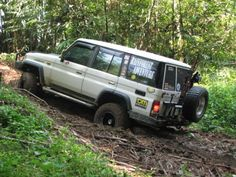 1991 Toyota Land Cruiser II ( ) - Ben Lee from Malaysia takes his 33 inch Cruiser wheeling in the Malaysian Rainforest. Land Cruiser 70 Series, Toyota Lc, 4x4 Off Road, Prado, Toyota Land Cruiser, Offroad, Dream Cars, Monster Trucks, Survival