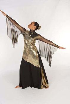 Worshiper Metallic Tunic w/ Short Skirt – Rejoice Dance Ministry Praise Dance Wear, Praise Dance Dresses, Worship Dance, Color Guard Costumes, Dance Store, Dance Outfits, Argentine Tango, Dance Costumes, Ganesha