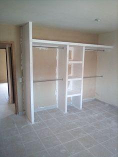 Wardrobe Room, Wardrobe Design Bedroom, Closet Bedroom, Home Bedroom, Closet Renovation, Closet Remodel, Bedroom Cupboard Designs, Bedroom Cupboards, Closet Layout
