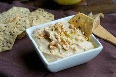 Peanut Butter Hummus #snacks #chips #recipes #peanutbutter #hummus