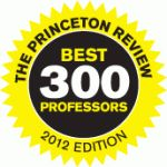 "Gustavus Adolphus College: Undergraduate faculty advisor for my thesis- ""Developing a Culture of Peace: The Socialization of Peace in Japan,"" Richard Leitch, rated as one of the Princeton Review's 300 best professors"