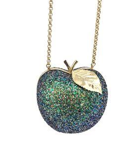 Trending in store  Anya Hindmarch Ap...  click here  http://timpanys.com/products/anya-hindmarch-apple-in-green-glitter?utm_campaign=social_autopilot&utm_source=pin&utm_medium=pin