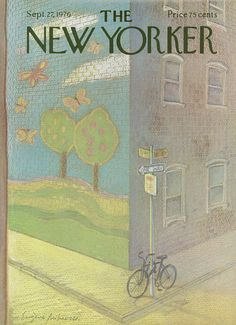 The New Yorker - Monday, September 27, 1976 - Issue # 2693 - Vol. 52 - N° 32 - Cover by : Ronald Searle