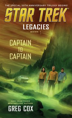 Captain to captain by Greg Cox . Hidden aboard the U.S.S. Enterprise is a secret that has been passed from captain to captain, from Robert April to Christopher Pike to James T. Kirk. Now the return of the enigmatic woman once known as 'Number One' has brought that secret to light, and Kirk and his crew must risk everything to finish a mission that began with April so many years ago #geekread