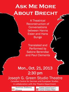 Ask me more about Brecht