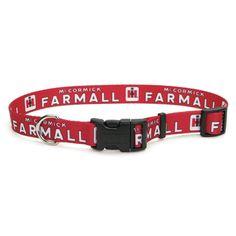 Farmall Adjustable Dog Collar