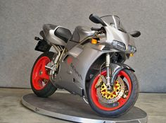 Ducati 916 Senna  collector bike # 125 of the 300