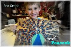 2nd Grade Project Peacock