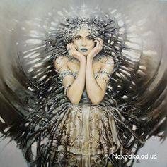 Incredible painting by Karol Bak.