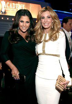Hillary Scott & Faith Hill.......two beautiful ladies in one shot!