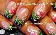 Orchid Nail: Galerie Saïda Nails