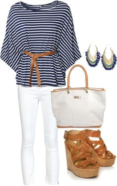 navy blue, created by liannaa1 on Polyvore