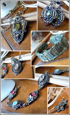 Beauty work. This bracelet is beautiful . . .