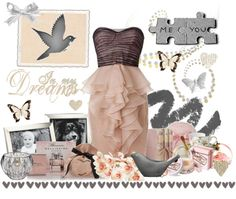 me, you and our dreams, created by lauren-x597 on Polyvore