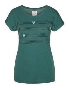 Liv Heart I Wish T-Shirt Mallard Green aus Biobaumwolle Short Sleeve Dresses, Dresses With Sleeves, Vegan Fashion, Mallard, Wish, Heart, Green, Shopping, Cotton