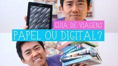 Como você compra seus guias de viagem? Em papel ou digital? Nesse vídeo eu falo um pouco sobre a diferença entre livros de papel e e-books.Vale a pena ter um...