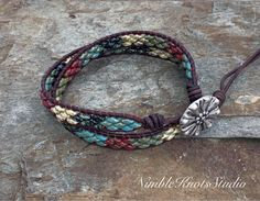 Wrap Bracelet, Beaded Leather Bracelet, Beaded Wrap Bracelet, Leather Wrap Bracelet,Double Wrap Bracelet, Beaded Bracelet, Bohemian Jewelry