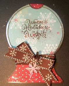 Made with doodle charms Shaped card using card stock and something better than acrylic and cutting on the Cricut.