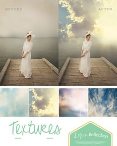 Sunrise Cloud Photo Textures by LifenReflection on Etsy Photoshop Pics, Photoshop Tutorial, Cloud Photos, Photo Texture, Photography Tips, Sunrise, Photo Editing, Creativity, Clouds