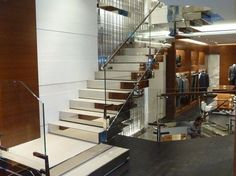 Open staircase Stairs by YDF