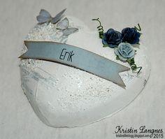 Kristins lille blogg: Inspirasjon til navnefest og dåp Cuff Bracelets, Layouts, Paper Crafts, Cards, Jewelry, Jewlery, Tissue Paper Crafts, Jewerly, Paper Craft Work