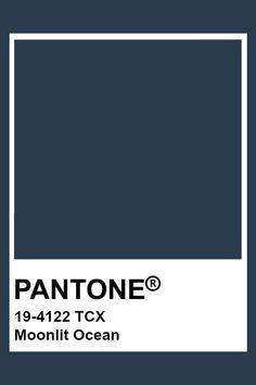 Navy Blue Pantone, Pantone Azul, Pantone Tcx, Pantone Swatches, Pantone Colour Palettes, Color Swatches, Pantone Color, Paint Palettes, Teal