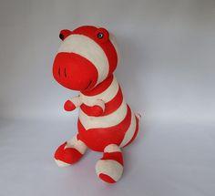 Dinosaur Plush Toy TRex Plushie Stuffed Animal  by SockSockWorld