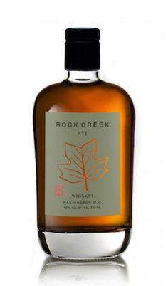 One Eight Distilling Rock Creek Rye Whiskey El primer Whiskey de Washington D.C. despues de la ley seca o prohibition.