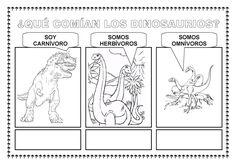 ESOS LOCOS BAJITOS DE INFANTIL: FICHAS PARA TRABAJAR LOS DINOSAURIOS Dinosaur Theme Preschool, Dinosaur Projects, Crafts For Kids, Activities, Google, Dinosaurs, Ideas, Amor, Dinosaur Activities