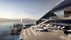 """En fotos: la Maserati del agua, el """"anti-crucero"""" que revolucionará los mares"""