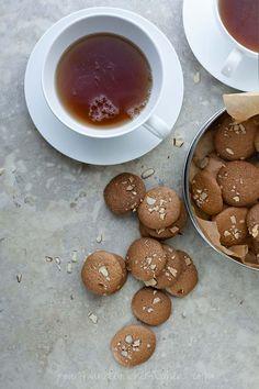 Amaretti Thins aka Crunchy Almond Cookies on gourmandeinthekitchen.com  (Gluten Free, Grain Free, Paleo Friendly)