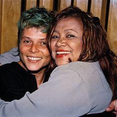 Cássia Eller e Alcione no Canecão, em 1998,