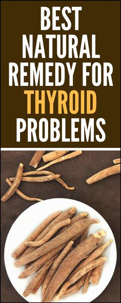 Ashwagandha – Best Natural Remedy for #Thyroid Problems