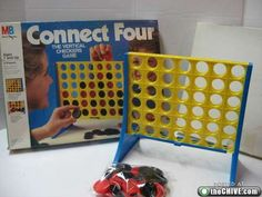 Connect 4~Played with my kids and now play it with my grandsons.