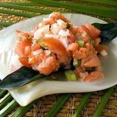 Salade hawaïenne au saumon fumé @ allrecipes.fr
