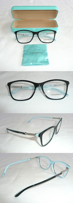 af7f70eb234b Eyeglass Frames  Tiffany And Co. Eyeglass Glasses Frames With Case Tf 2116-