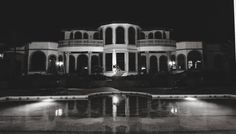 Night lights at Villa Adriana. Photo by Theresa NeSmith Photography