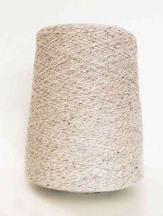Silk Merino Tweed - Oatmeal - 3 Ply Lace weight - 450g