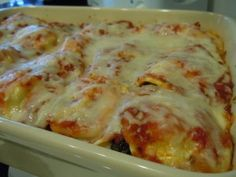 Frozen Ravioli lasagna with frozen spinach. Super easy. Kids loved it.