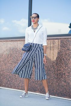 Oxfords & Culottes - Generation of Style