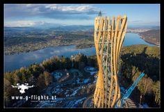 #Pyramidenkogel #Aussichtsturm #Kärnten Klagenfurt, Tours, Alps, Travel, Photo Illustration