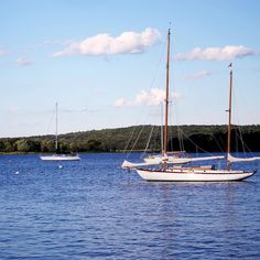 The best views of New England come from abroad a sailboat