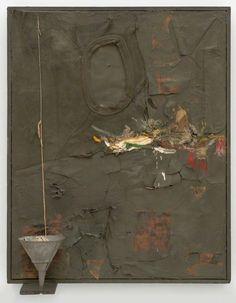 Untitled assemblage by Robert Rauschenberg Robert Rauschenberg, James Rosenquist, Pop Art Movement, Jasper Johns, Collage Art Mixed Media, Assemblage Art, Claes Oldenburg, Museum Of Modern Art, Abstract Expressionism