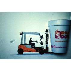 And who doesn't like a larger cup in the morning? Larger, Toyota, Management, Instagram