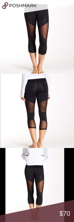 Mesh panel leggings Sexy Mesh panel workout leggings are so hot! You work for it so go for it and sport these everywhere - not just to the gym or Pilates - run your errands in these and see where the day takes yaabs no returns - please ask any questions. Great support for both a work out and on the streets.  Fabric Content88% Polyester 12% Spandex Fabric CareMachine wash cold, do not bleach, dry flat, iron low, do not dry clean, wash and dry with like colors. Beverly Hills based company…